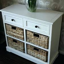 storage units with baskets wicker baskets drawers chest of drawer storage units with cream unit basket