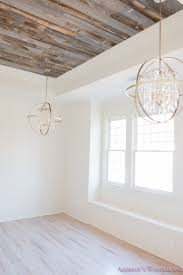 alabaster walls girls bedroom stikwood weathered wood ceiling shaw floors whitewashed hardwood flooring pink rose doors 5 of 8