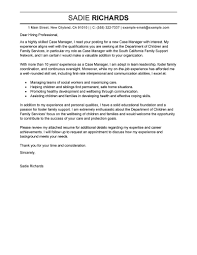 Caseworker Cover Letter No Experience Fishingstudio Com