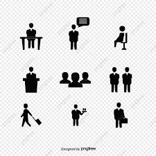 ビジネスの人物アイコン素材 ビジネス シルエット ビジネスパーソン画像