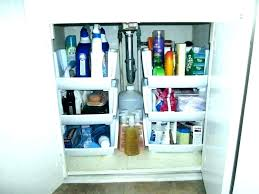 Bathroom Diy Ideas Delectable Bathroom Under Cabinet Organizers Bathroom R Cabinet Storage Sink