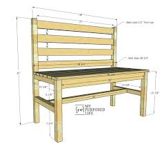 wood bench ideas outdoor wood bench plans easy plans for wooden slat bench with back outdoor wood bench ideas