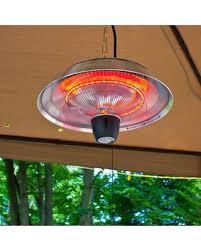 hanging patio heater. EnerG+ 1500 Watt Electric Hanging Patio Heater HEA-21523