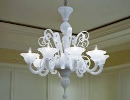 nella vetrina white murano 8 murano chandelier in white glass pertaining to modern murano glass chandelier