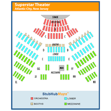 Resorts Superstar Theater Seating Chart Resorts Atlantic City Superstar Theater Events And