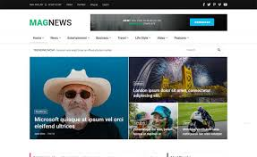 Newspaper Web Template Free Magnews2 Free Bootstrap 4 Html5 News Website Template