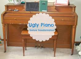 mimiberry creations drab to fab piano transformation using chalk paint and gel stain