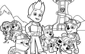 Small Picture printable coloring pages paw patrol wwwmindsandvinescom