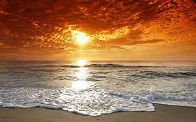 Free download Sunset Beach Tide Desktop ...