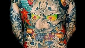 Japonské Tetování Vypráví Příběhy Vrahů I Obětí V Lázni Ho Ale