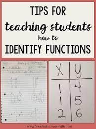 identify functions mrs e teaches math