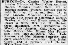 Obituary for Charles Wesley BURTON (Aged 63) - Newspapers.com