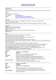 tossani cv english resume