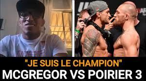 McGregor vs Poirier 3, Charles Oliveira donne son avis ...