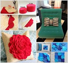 How To Make Decorative Pillows Ideas
