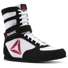 reebok boxing boots. reebok - boxing boot buck white / black bd1348 boots e