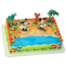 Disney Mickey Mouse 4 Licensed Toy Cake