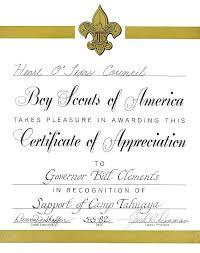 Printable Appreciation Certificates Best Images On Printable Certificates Boy Scout Certificate