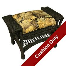Ottoman Cushion for Outdoor Patio Furniture