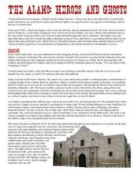 causes of the mexican american war a mini dbq students interpret great halloween project this story on ghost sightings at the alamo that covers all essential