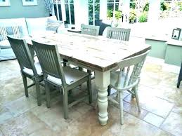 modern farmhouse dining table decor turned legs style and chairs set white round furniture kitchen winsome