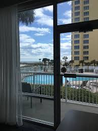 springhill suites by marriott pensacola beach 1st floor pool view king room