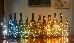 Lights For Wine Bottles Wine Bottle Decor Lights Inside Wine Bottle