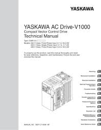 yaskawa v1000 wiring diagram yaskawa image wiring yaskawa ac drive v1000 option componet technical manual on yaskawa v1000 wiring diagram