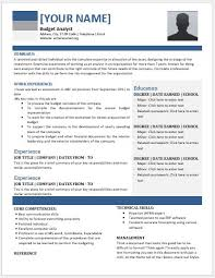 budget analyst resume sample budget analyst resume sample