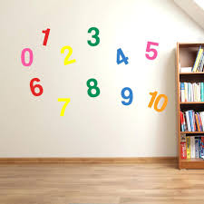 numbers wall decals 1 to numbers wall stickers kids nursery play room home  art zoom wall . numbers wall decals ...