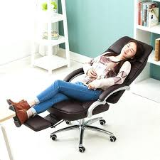 office recliner chair. Exotic Reclining Computer Chair Super Soft Office Household Ergonomic Lying Swivel Recliner A