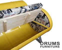 drum furniture. KMITO Oil Drum Furniture D