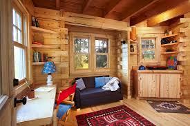 tree house interior designs. Unique Designs Colorado Treehouse Rustichomeoffice On Tree House Interior Designs
