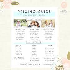 Wanderers Wedding Flyer Price List Template And – Helenamontana.info