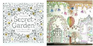 My Secret Garden Coloring Book Secret Garden Coloring Pages Adult