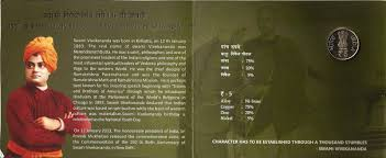 coins and more swami vivekananda or ldquo shami bibekanando rdquo in coins and more 112 swami vivekananda or ldquoshami bibekanandordquo in bengali commemorating his 150th birth anniversary 12 01 1863 04 07 1902 honouring