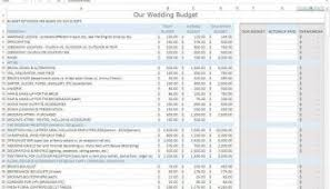 wedding spreadsheet budgeting that makes sense toronto the budget spreadsheet