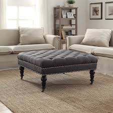 beautiful black tufted ottoman best ideas about tufted ottoman coffee table on