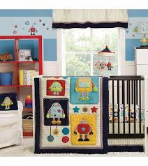 robot nursery bedding designs