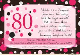 80th Surprise Birthday Party Invitations Free Printable