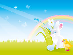 Spring Powerpoint Spring Rabbit Presentation Powerpoint Templates Animals