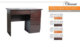 office table wood. Office Table 1011P Wood