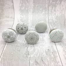 Success Ceramic Door Knobs Cupboard Drawer Door Handles ...