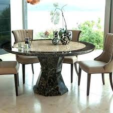 round marble top dining table set kitchen medium size of in malays