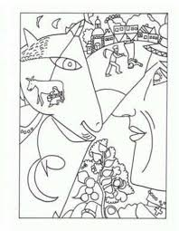 Small Picture marc chagall coloring pages Famous Artist Coloring Pages