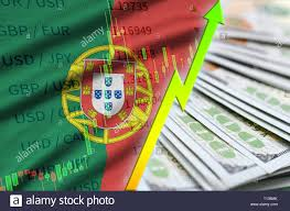 My Growing Up Chart Portugal Flag And Chart Growing Us Dollar Position With A
