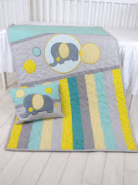 Best 25+ Quilted baby blanket ideas on Pinterest | Baby quilts ... & Baby Blanket, Teal Gray Crib Quilt, Elephant Bedding for Baby Boy, Handmade  Quilting Adamdwight.com