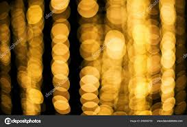 Yellow Round Light Golden Yellow Bokeh Defocused Light Abstract Background
