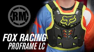 Fox Airframe Size Chart Fox Racing Proframe Lc Roost Deflector Riding Gear Rocky