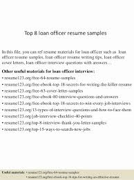 Mortgage Loan Officer Resume Awesome 44 Mortgage Loan Ficer Resume